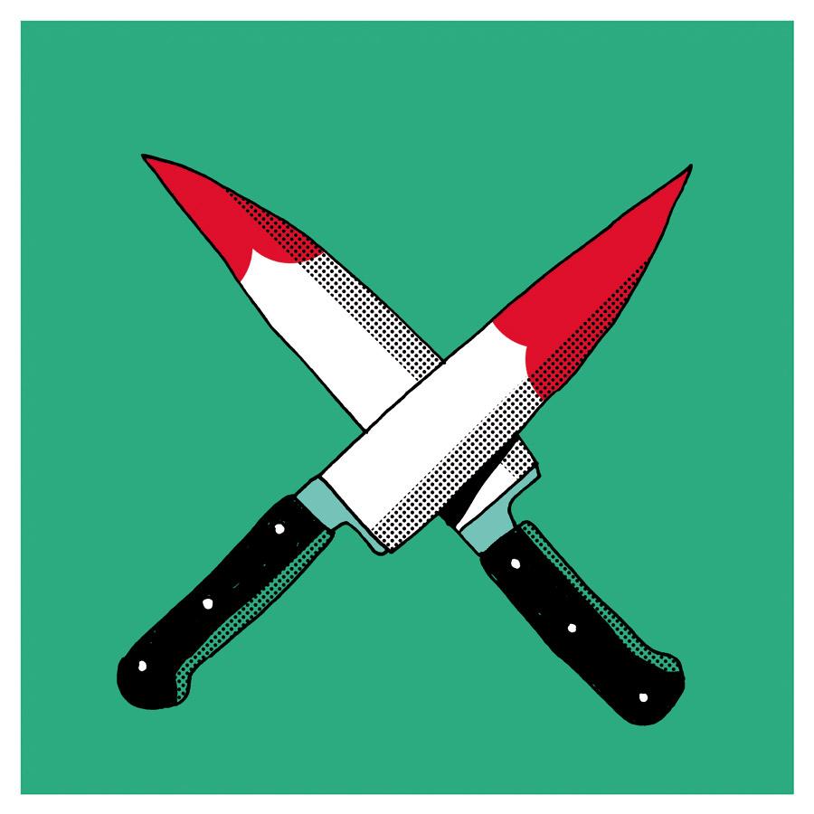 cuchillos-cruzados